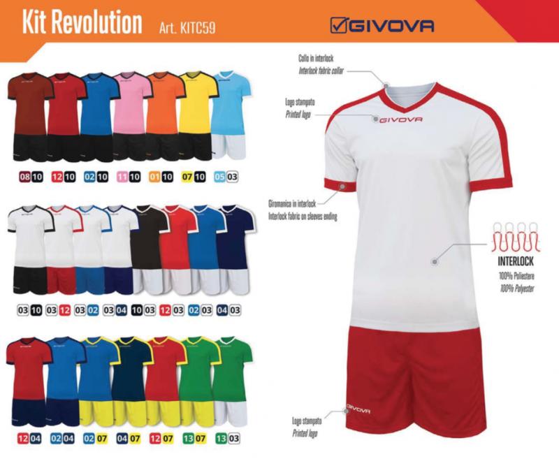 Kit Givova Revolution