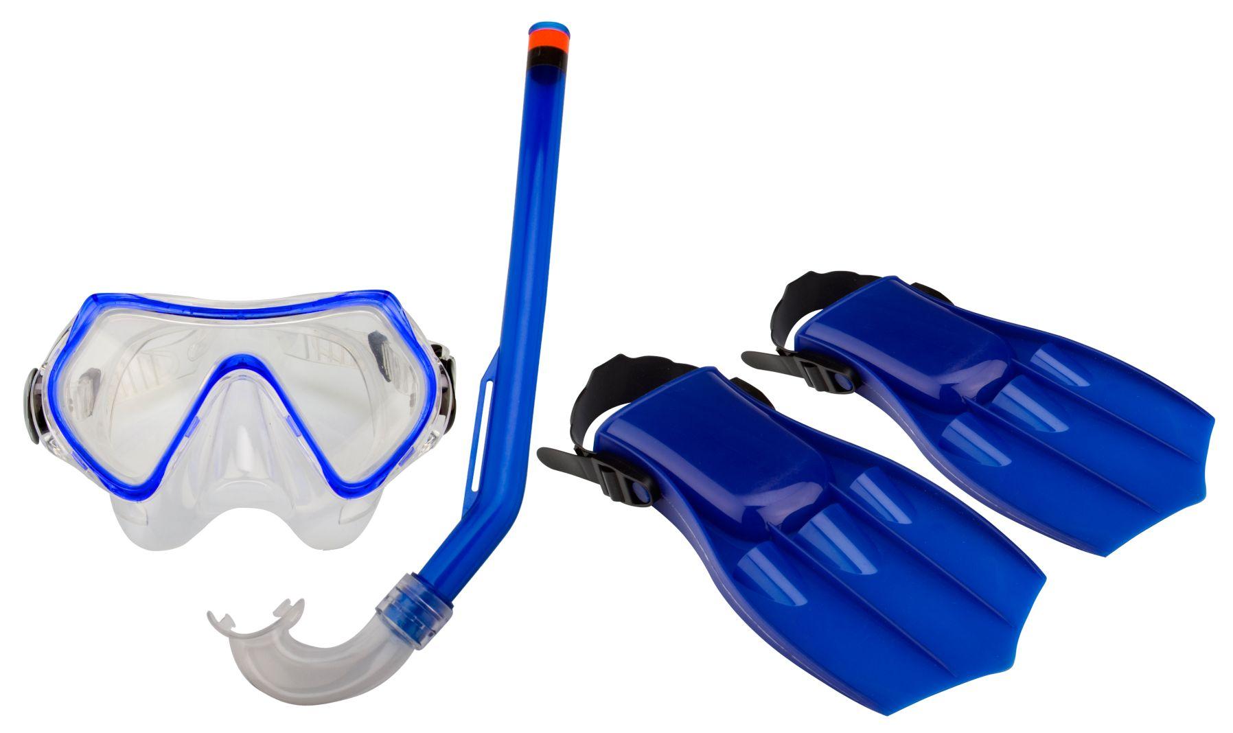Set Masca pentru scufundări / Snorkel / Aripioare • Junior •