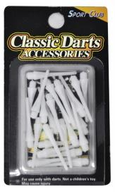 Varfuri darts plastic 25 mm