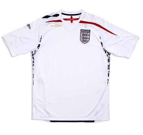 Tricou Umbro England Home S/S 07