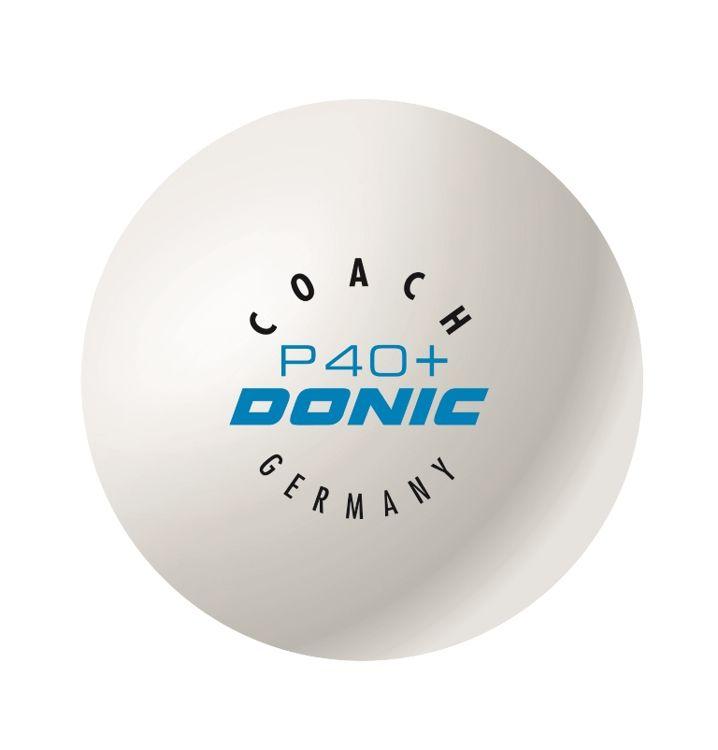 Mingi Donic Coach P40+ alb
