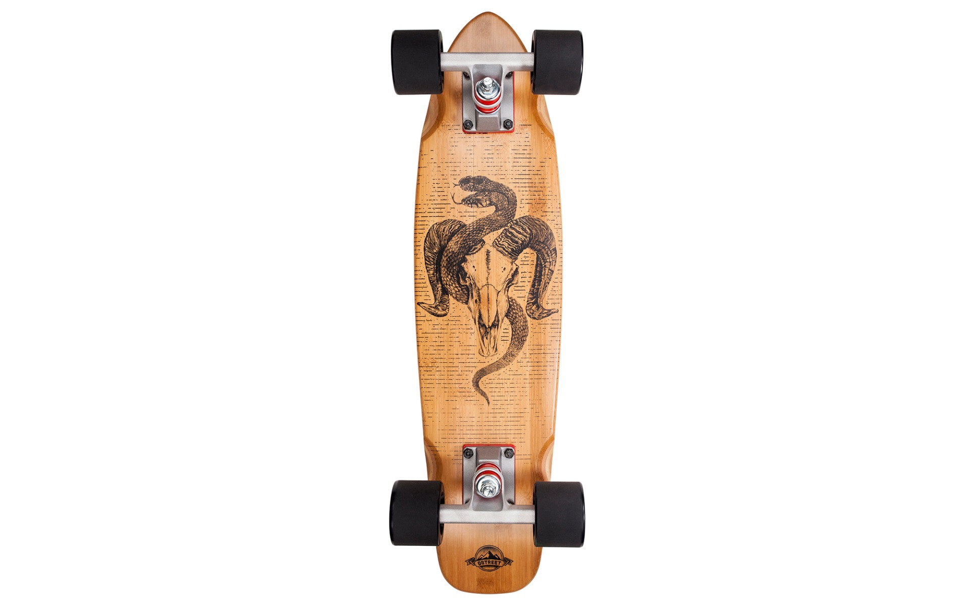 Skate D Street Cruiser Bamboo Aries Nature