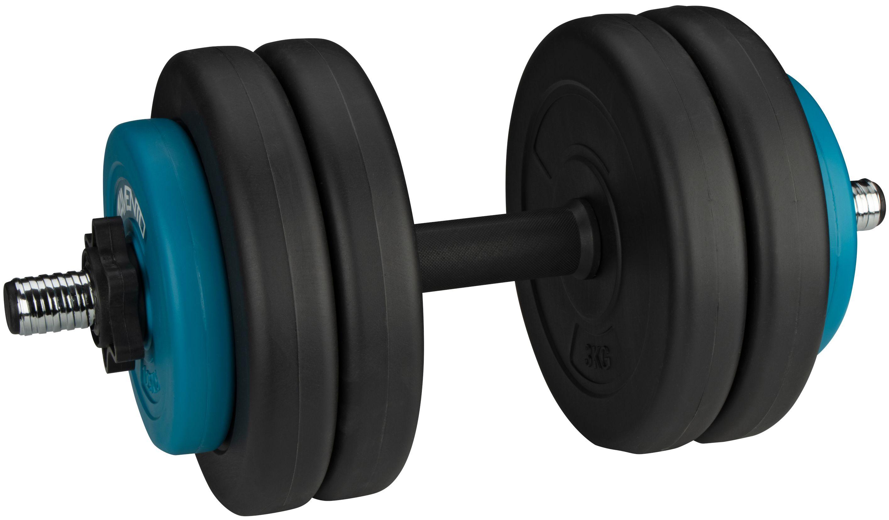 Gantera ajustabila Avento, 15 kg, Syntethic