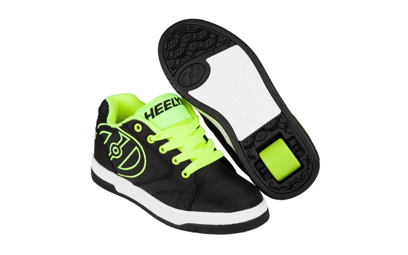 Role Heelys Propel 2.0 Negru Cu Verde