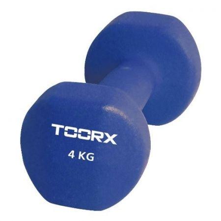 Gantera Neopren Toorx 4 Kg Albastru