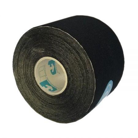 Banda Kinesiologica, Pre-cut 5cm X 5m, Neagra
