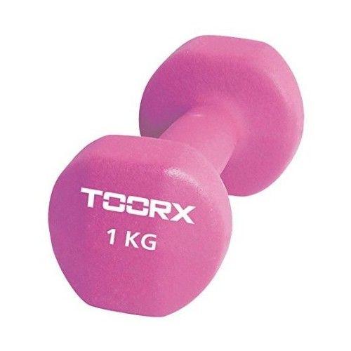Gantera Neopren Toorx 1 Kg Roz