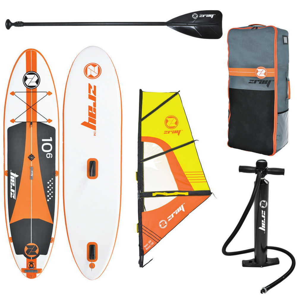 Paddle Board Cu Vela Jilong Z-ray W1 Pro Sup Set 305x76cm