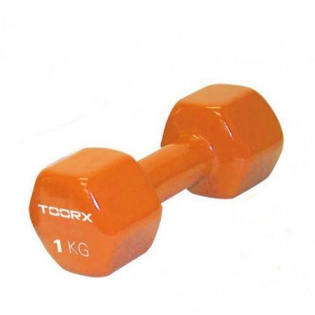 Gantera Pvc Toorx 1 Kg Oranj