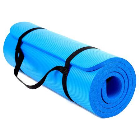 Saltea Fitness/yoga Techfit Exercise Mat, Usoara, Confortabila, Albastru, Grosime 1,5 Cm