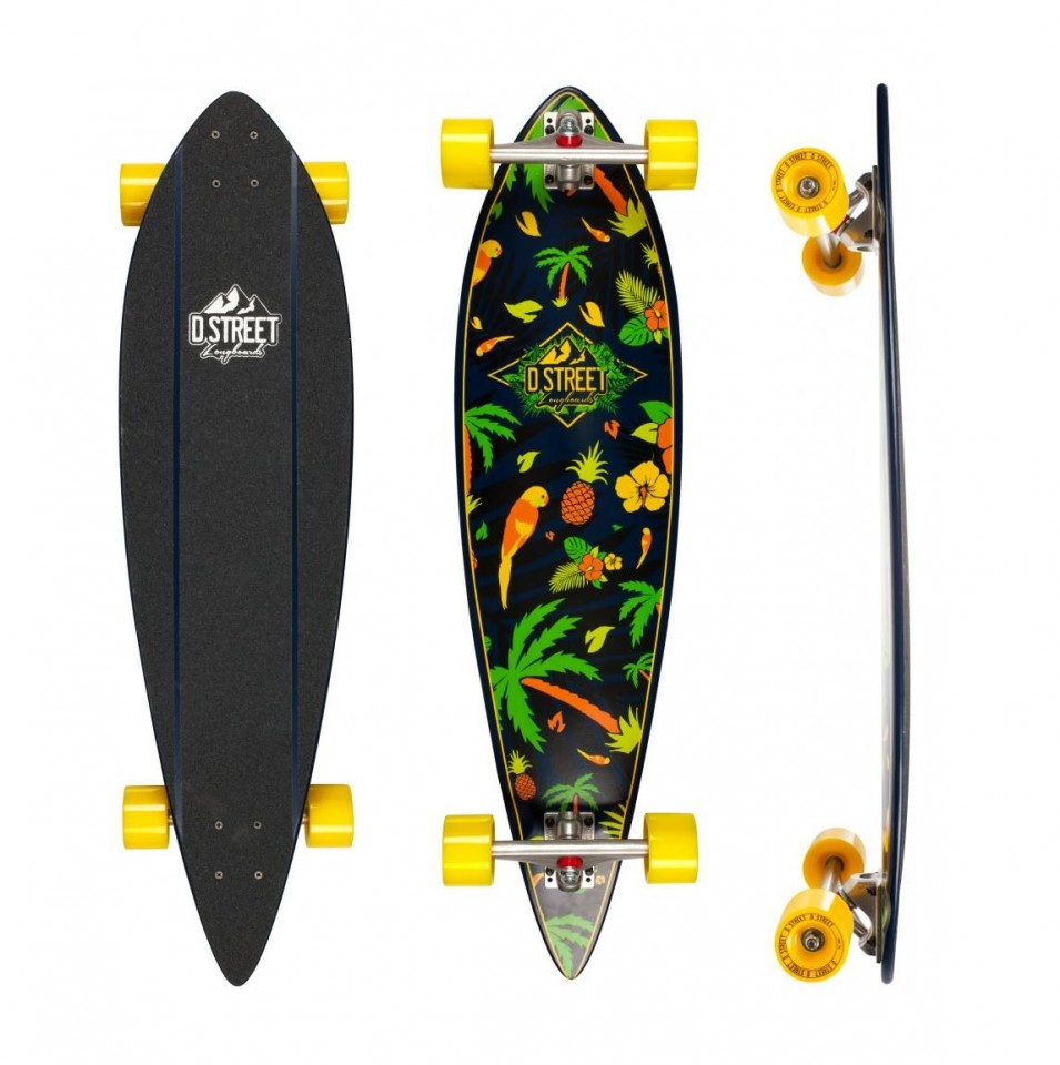 Skate D Street Pintail Tropical 38 Multi