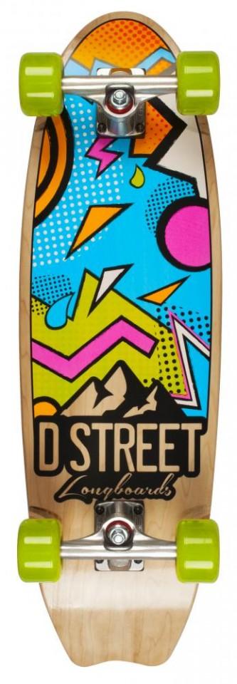 Skate D Street Stubby Bayside 29 Multi